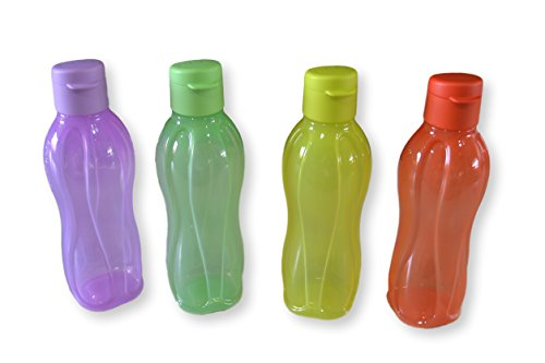 Tupperware-Borraccia con Aquasafe Flitptop, 500 ml (confezione da 4)