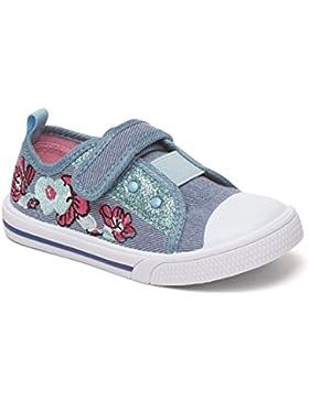 Chatterbox - Zapatillas de Lona para niña 37-31 EU Infantilil