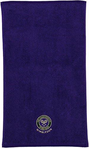 Wimbledon org. Men Guest Towel Purple