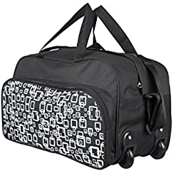 3G Polyester Black Soft Sided Travel Duffles