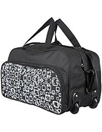 3G wheel strolley Duffle bag black Medium size (Blackprint)