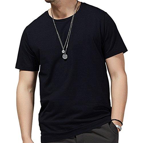 timlung-herren-t-shirt-mit-neuer-technik-wasserdicht-schmutzabweisend-schnelltrocknend-schwarz-grm