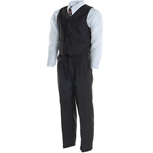 ion Hosen Fest Anzug Smoking Taufe Hochzeit Anzug 5Tlg 20496, Farbe:Blau;Größe:92 (Haut Anzug Smoking)