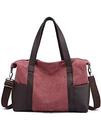 8967f283e5 IOSHAPO Donna moda viaggio grande borsa borsetta casuale Borsa a tracolla  sacchetto
