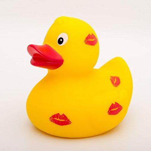 Badeente Küss mich - Quietscheente - Quietscheentchen