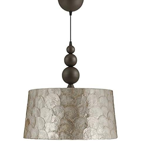 Iluminacion Ajp - 032-7073 lámpara de techo con pantalla 35cms acabado bronce