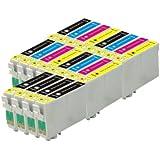 20 Compatible Ink Cartridges Epson 16XL For WorkForce Printer WF-2010W WF-2510WF WF-2520NF WF-2530WF WF-2540WF