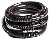 MS Traders Advanced Anti Theft AI02L0001 Cable Lock (Black)
