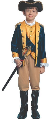 Patriot Boy Child Halloween Costume Size 8-10 Medium by Franco (Patriot Boy Kostüm)