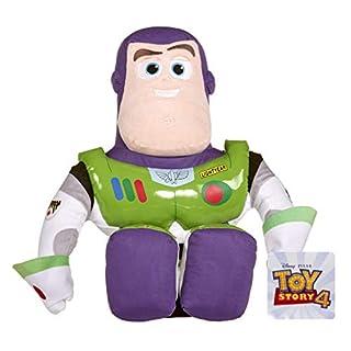 Posh Paws 37274 Disney Pixar Toy Story 4 Buzz Lightyear Weichpuppe in Geschenkbox, Mehrfarbig
