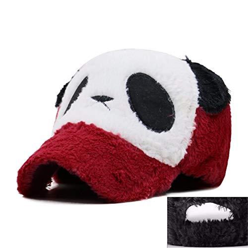 MZ Netter Panda-Katzen-Ohr-Baseballmütze-Sonnenschutz-Hut-LKW-Hut im Freien Karikatur-Paar-Hut Eltern-Kind Kappe, 5