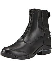 Kerbl Reitette Monaco Glattleder - Polainas/chaparreras de hípica, color negro, talla 44