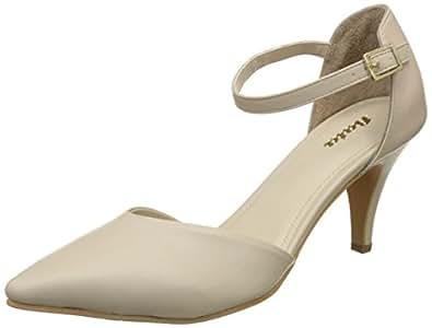 BATA Women's Cathie Beige Fashion Sandals - 3 UK/India (36 EU)(7518009)