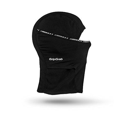GripGrab Winter-Fahrradmaske und -mütze, Schwarz, XS (51-54 cm)