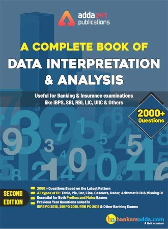 Adda247 A Complete Book on Data Interpretation and Analysis (English Printed Edition) [Paperback Bunko] Adda247 Publications and Anil