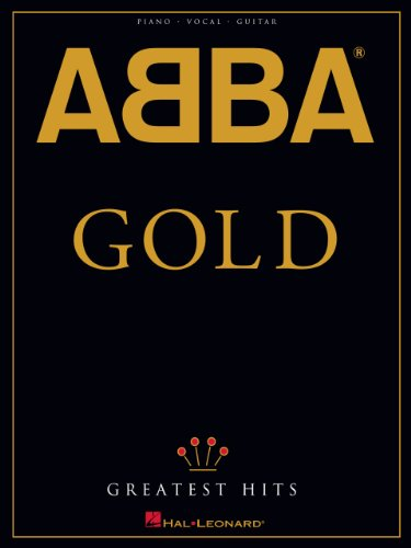 ABBA - Gold: Greatest Hits Songbook (Piano/Vocal/guitar Artist Songbook)