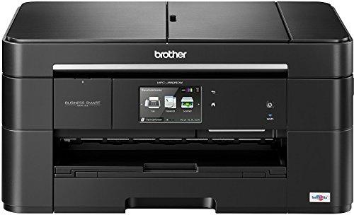 Brother MFC-J5625DW 4-in-1 Multifunktionsgerät (Farbdrucker, Farbkopierer, Scanner, Fax, 6000x1200dpi, USB 2.0, WLAN) schwarz (Scanner-farbkopierer)
