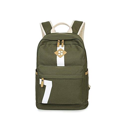 Sac à dos toile/sac féminin lycéens/Sac de loisirs coréen/Mode simple Joker ordinateur portable sac de voyage-B F