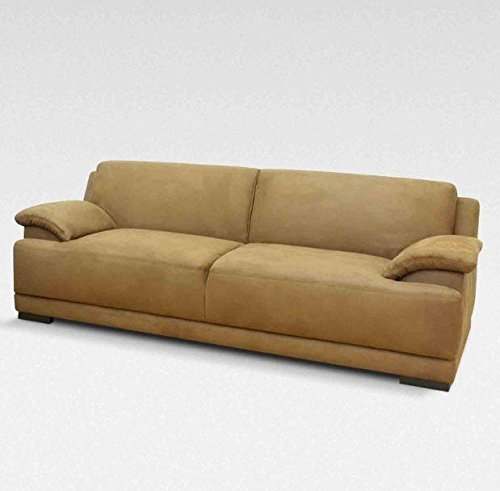 ALESSANDRIA 3er Boxspringsofa 3-Sitzer Sofa Couch Beige