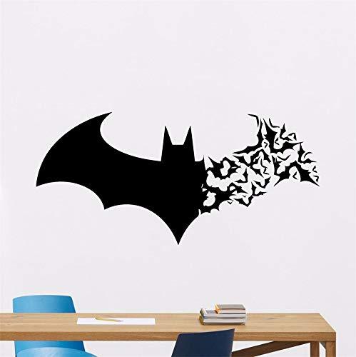Wandaufkleber Kinderzimmer wandaufkleber 3d Batman Wandtattoo Aufkleber Batman Wandtattoo Kinder Bat Logo Superheld Vinyl Aufkleber Kinderzimmer Dekoration Comics Stil Poster