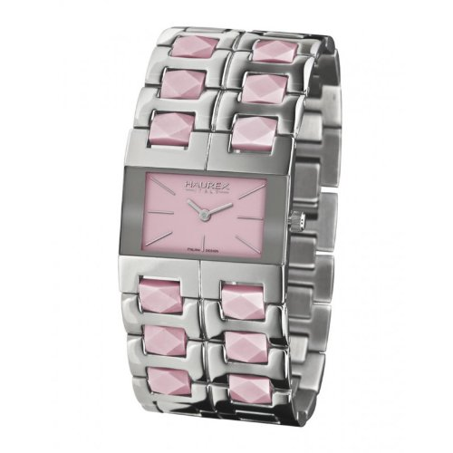 Haurex Italy XA327DP1 Womens Luna Purple Dial Watch