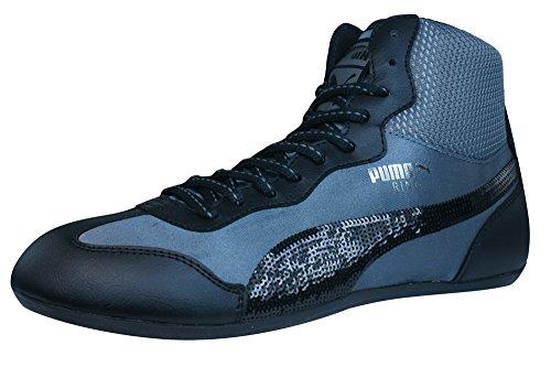 Puma Ring Sequins Frauen Sneaker - Schuhe-Black-40 (Puma Ring)