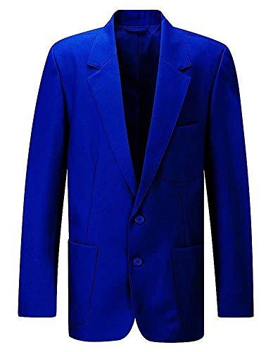 NEU Beau Brummel Schuluniform Elegant Mantel Ziggys Herren Reißverschluss Eingang Blazer Senior - Königsblau, 52