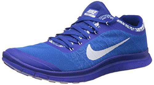 Nike Men's Free 3.0 Blue Running Shoes - 7.5 UK/India (42 EU)(8.5 US)(580393-801)  available at amazon for Rs.4757