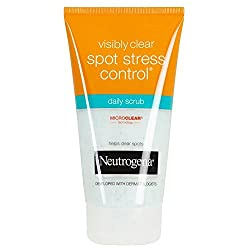 Neutrogena Visible Clear Spot Stress Control Daily Scrub 150ml with Ayur Product in Combo