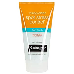 Neutrogena Visibly Clear Spot Stress Control Daily Scrub (150ml) - Pack of 2