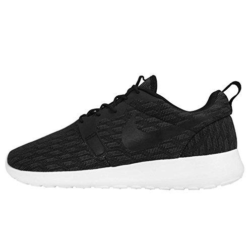 Nike Rosherun Kjcrd Herren Laufschuhe black black dark grey white 001