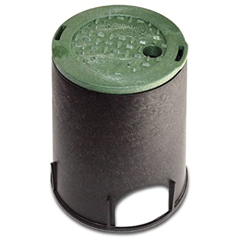 "National Diversified 107BC Round Valve Box With Cover-7"" ROUND VALVE BOX"