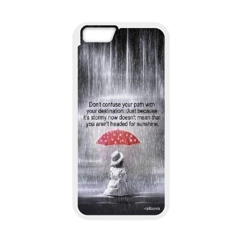 Custom Life IsnT About Waiting For The Storm To Pass Iphone6 Phone Case, Life IsnT About Waiting For The Storm To Pass DIY Cell Phone Case for iPhone 6 4.7 at Lzzcase