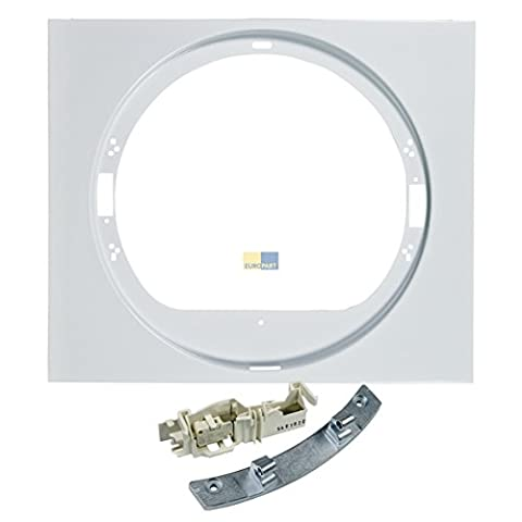 Electrolux AEG 4055344131 ORIGINAL Frontblende Türscharnier Türschalter Set Wäschetrockner Trockner auch Husqvarna