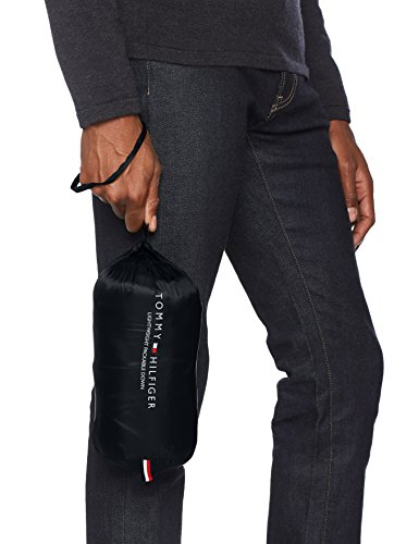 Tommy Hilfiger Herren Weste Lw Packable Down Vest Schwarz (Jet Black 083)