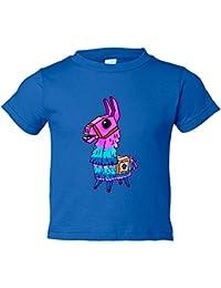 Camiseta niño Llama Kawaii