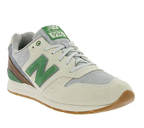 New Balance uomo, MRL996 sneakers nabuk beige E7102 Beige