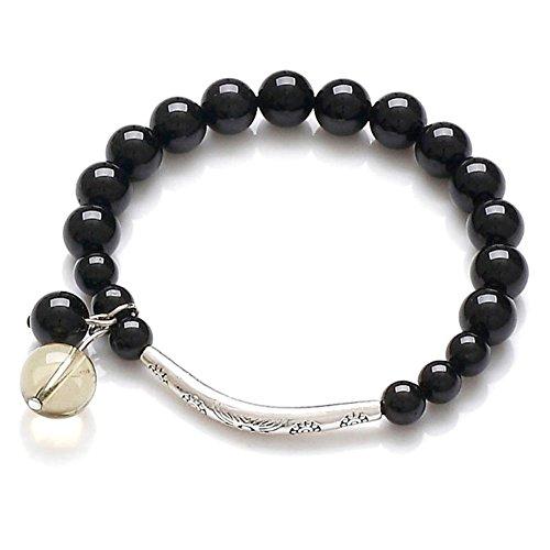 Tormalina naturale braccialetto di modo/ gioielli etnici/ Bracciali Topaz/ birthday
