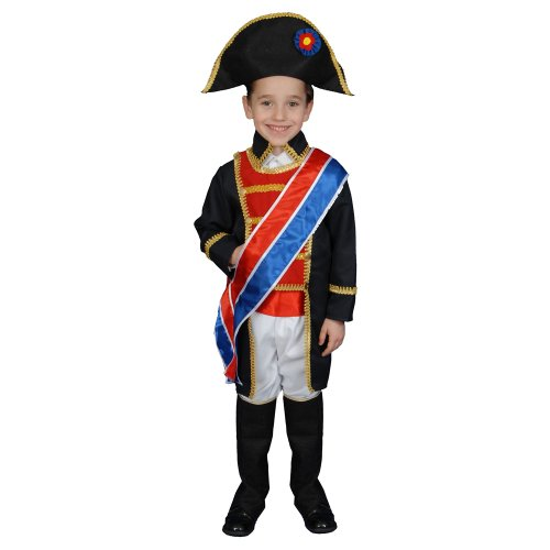 Dress Up America Kinder Historische realistische Napoleon Kostüm ()