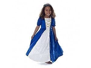 Den Goda Fen 065260-vestido De Marquise talla M De 6 años, color azul