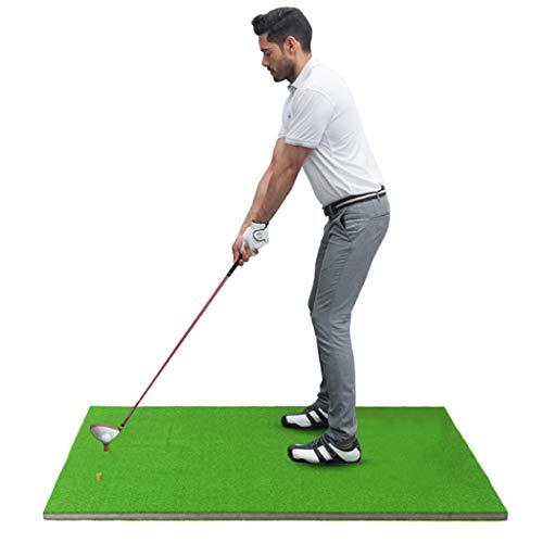 Truedays Golf Zubehör Launch Pad Mat Golf Simulator Trainingsgerät Pad Golf Abschlagmatte Grün100*150cm