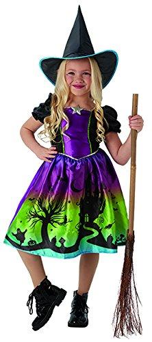 Rubie's 2630702M Ombre Witch, Kostüm für Kinder, (Kostüme Zauberhafte Kind Hexe)