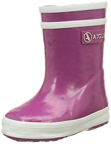 Aigle Flac 24831 Unisex Baby Krabbelschuhe, Violett (Mure), 21 EU