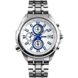 Skmei Casual Watch For Men Analog Stainless Steel - 9107