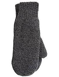 Mens Heat Holders Heatweaver Thermal Winter Warm Mittens TOG 2.5 Black, Charcoal