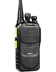 Pofung GT-1 UHF 400-470MHz 5W 16CH FM de dos vías de radio-aficionado Walkie Talkie HT (Verde)