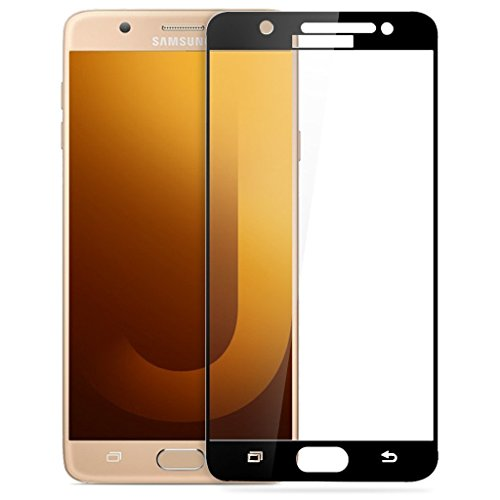 Full Body Tempered For Samsung Galaxy On Max, Roxel (TM) 3D Arc Edge Full Body Front Edge to Edge Tempered Glass Screen Scratch Guard Protector for Samsung Galaxy On Max (Gold, 32 GB)/Samsung Galaxy On Max (Black, 32 GB) - Royal Black  available at amazon for Rs.259