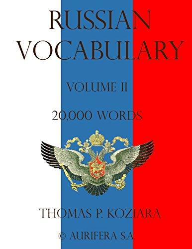 Russian Vocabulary: Volume 2