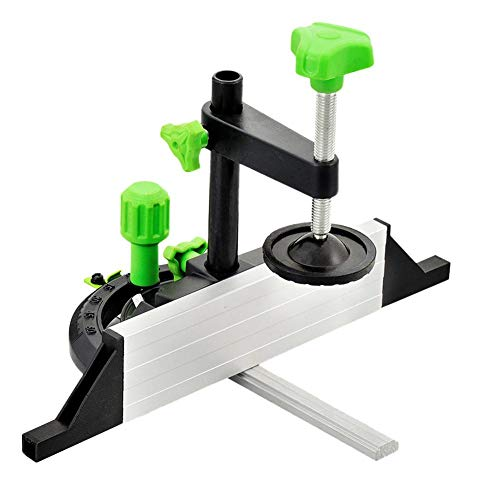 domiluoyoyo Holzbearbeitung DIY Zubehör Tischsäge Drücker Lineal Tischkreissäge Lineal Winkelplatte Winkel Lineal