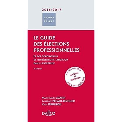 Le guide des élections professionnelles 2016/2017. et des désignations de représentants syndicaux. -: et des désignations de représentants syndicaux - 3ème éd.